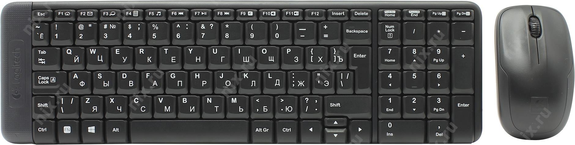 Logitech Wireless Combo Mk220 Mouse Keyboard