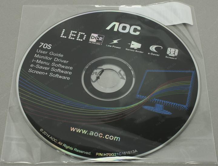 Aoc драйвера для монитора
