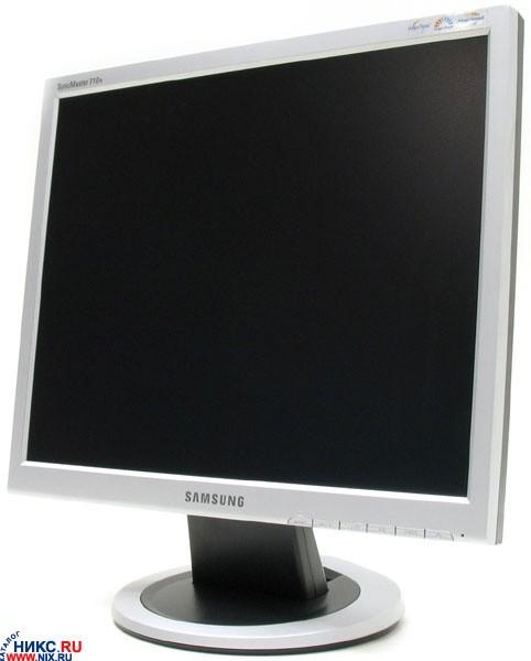 samsung syncmaster 710n драйвер