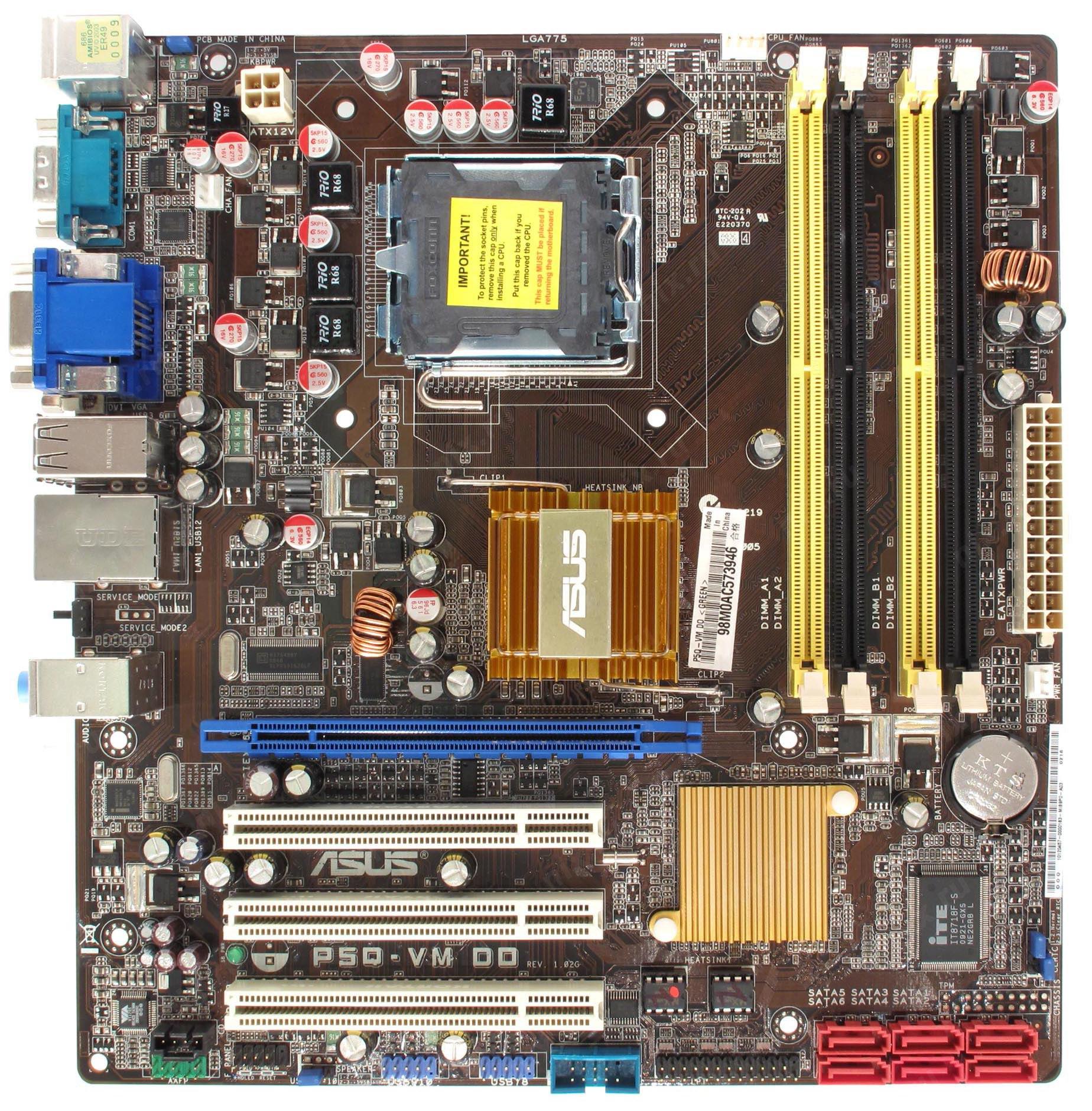 Asus P5Q-VM DO Intel VGA Driver for PC