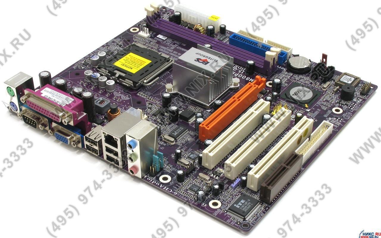 Elitegroup P4m800pro M2 Ecs M Motherboard Schematic Diagram