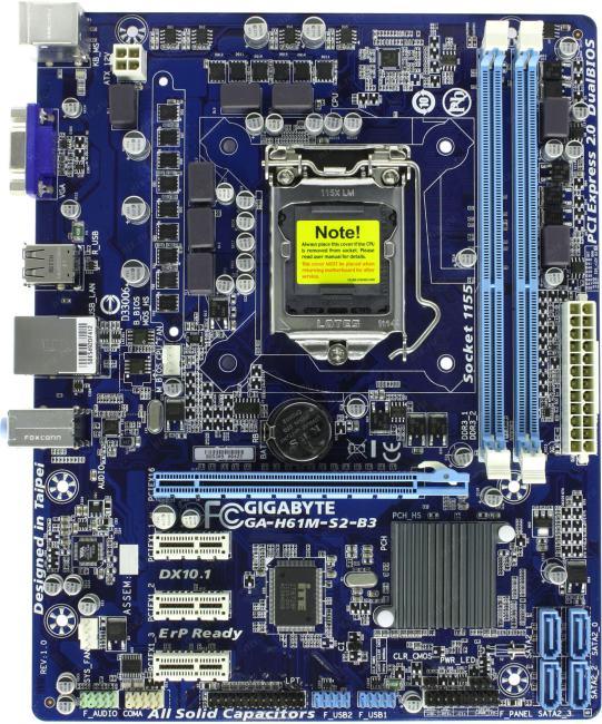 gigabyte h61 motherboard lan driver
