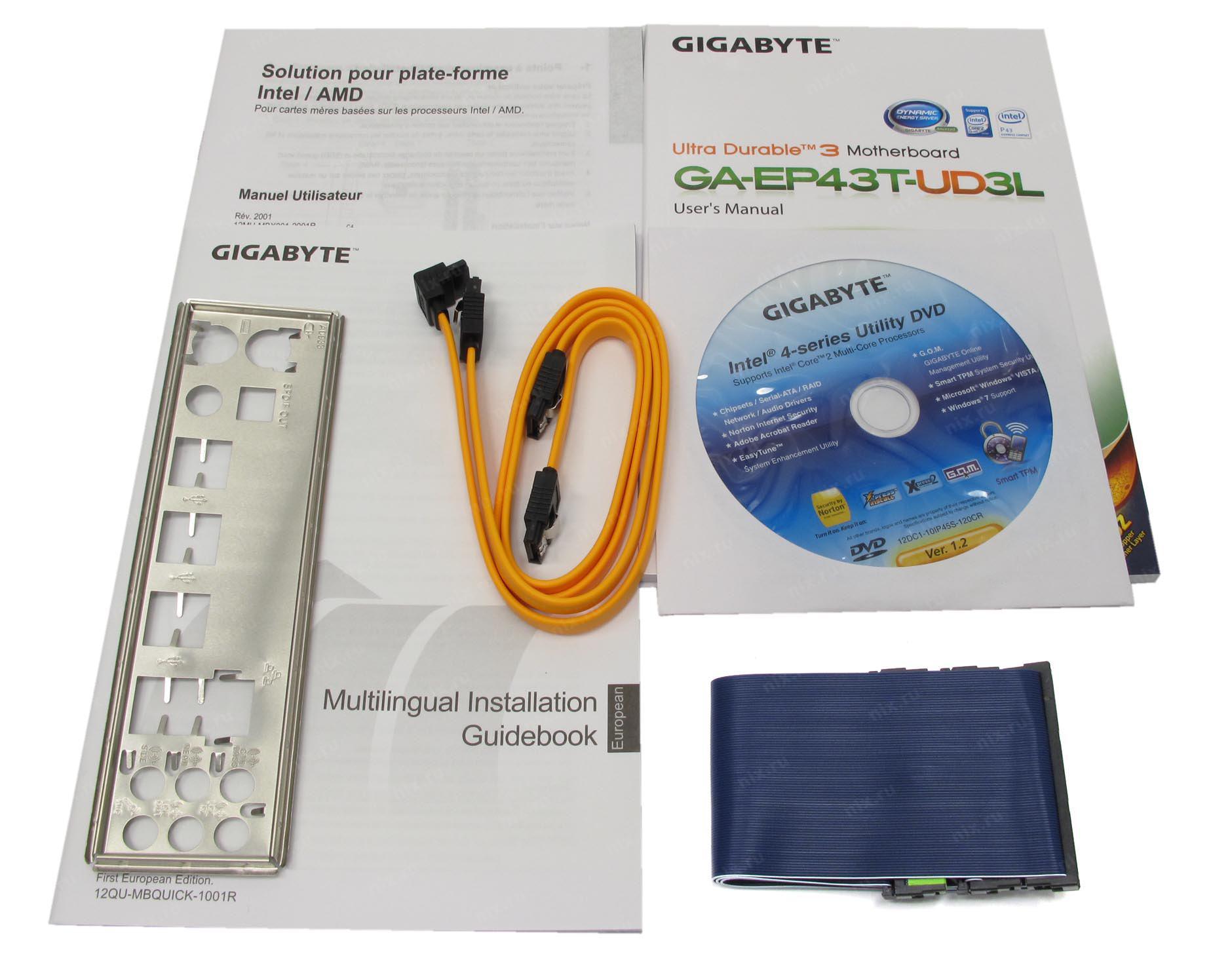 Gigabyte GA-EP43T-UD3L Intel SATA RAID Windows 8 X64 Treiber