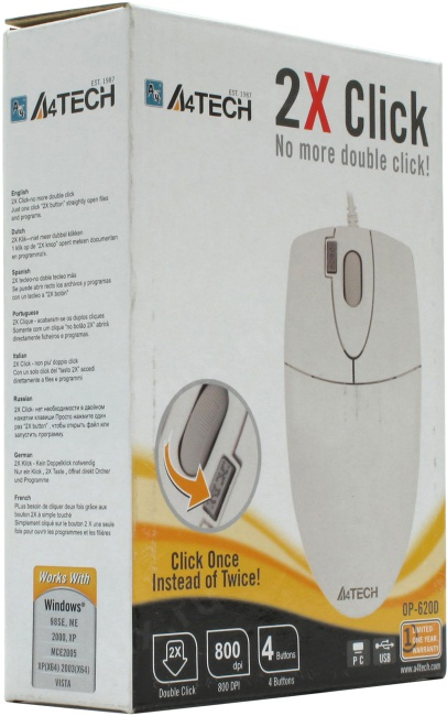 A4tech Optical Mouse Op620d Driver Download