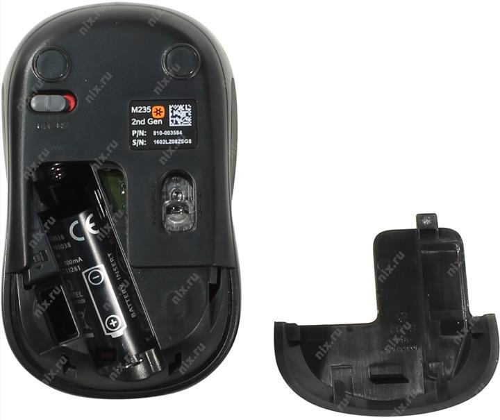 Мышь (910-002496) Logitech Wireless Mouse M235 Red