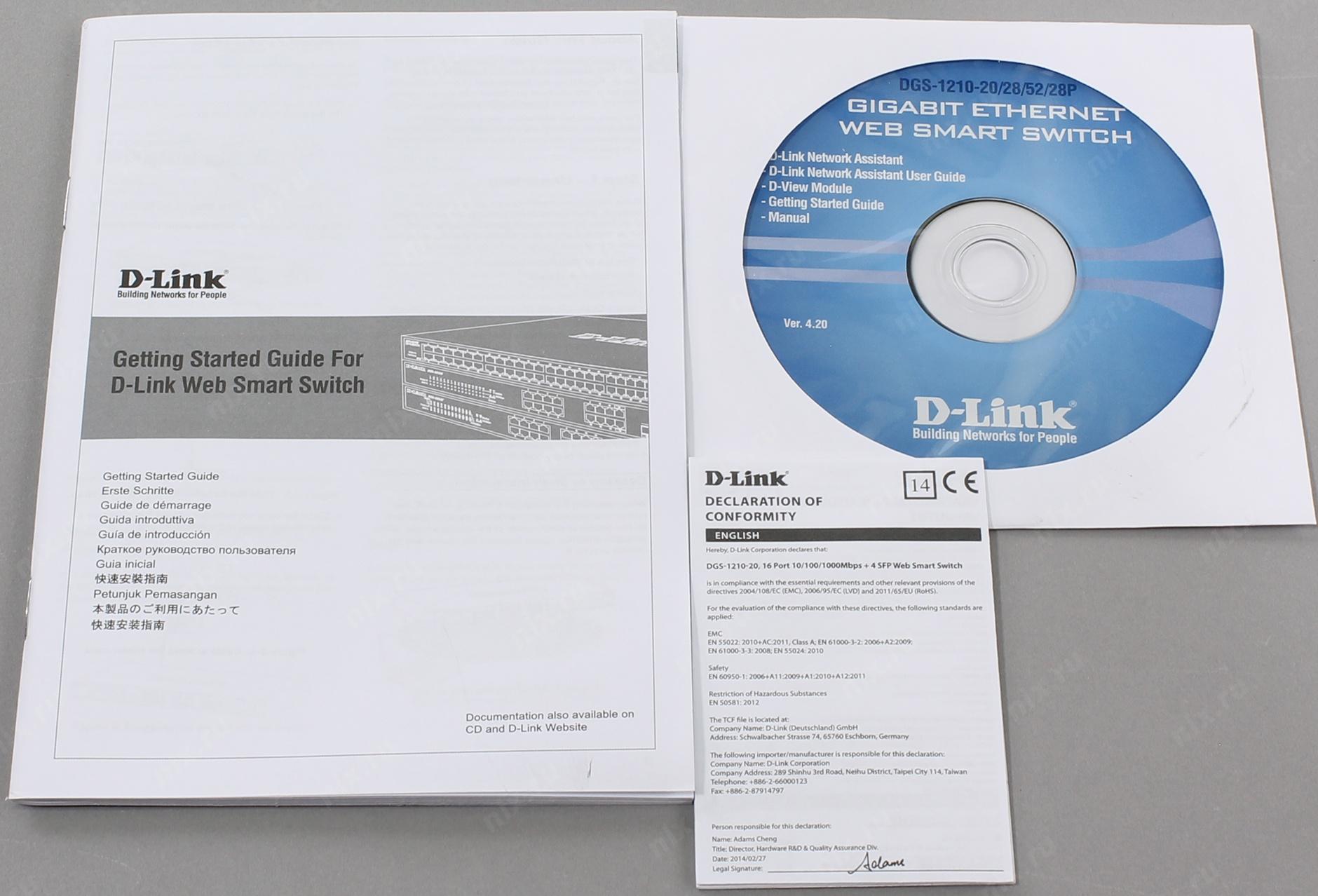 16 Port Gig Web Smart Switch Dlink Business Dgs121020 D Link Dgs 1210 10 E 20 C1a