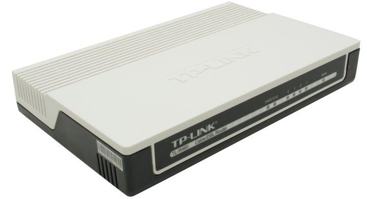 TP-LINK TL-R460, вид основной