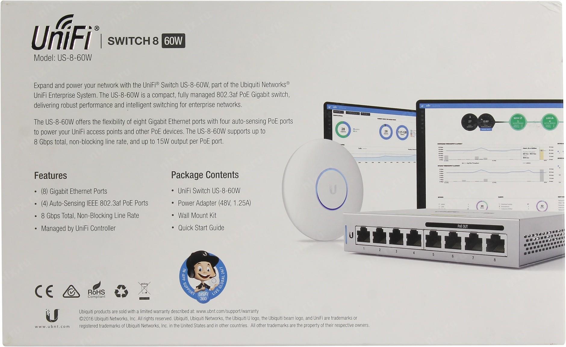 UNIFI Switch US-8-60W