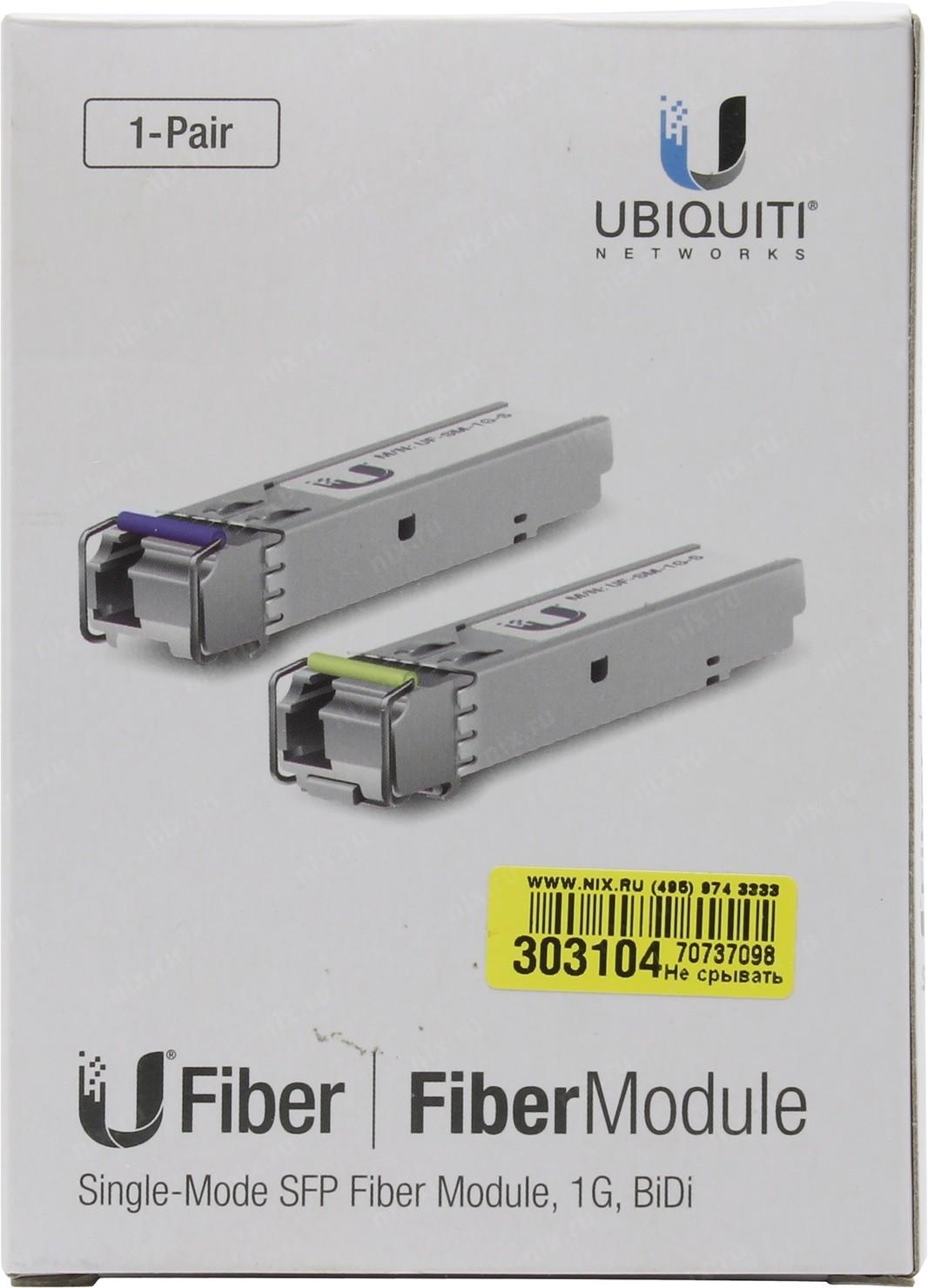Модули SFP UBIQUITI UF-SM-1G-S — купить, цена и характеристики, отзывы