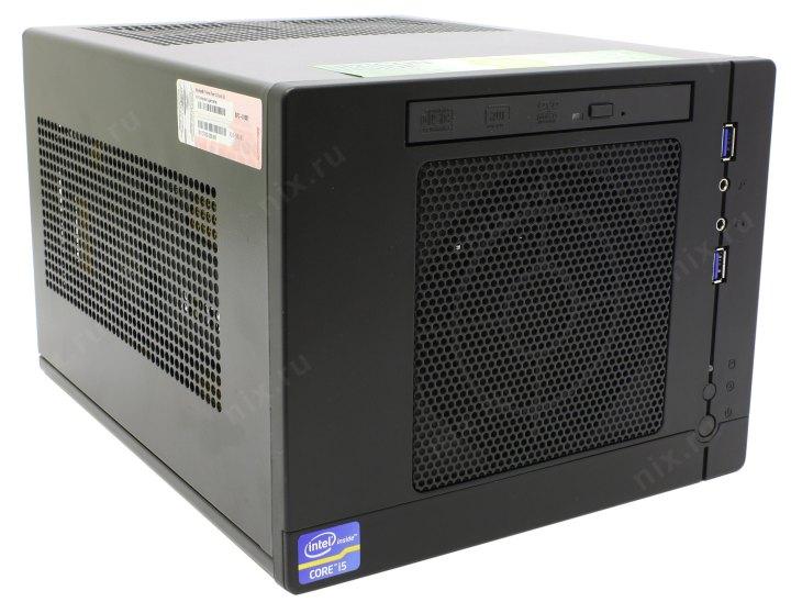 X5000B-ITX (X531VLGi): Core i5-2400 / 4 Гб / 1 Тб / 1 Гб GeForce<sup>®</sup>  GTX 560 Ti / DVDRW / Win7 Premium, вид спереди