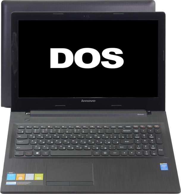 Lenovo G 50-30, вид раскрытого ноутбука