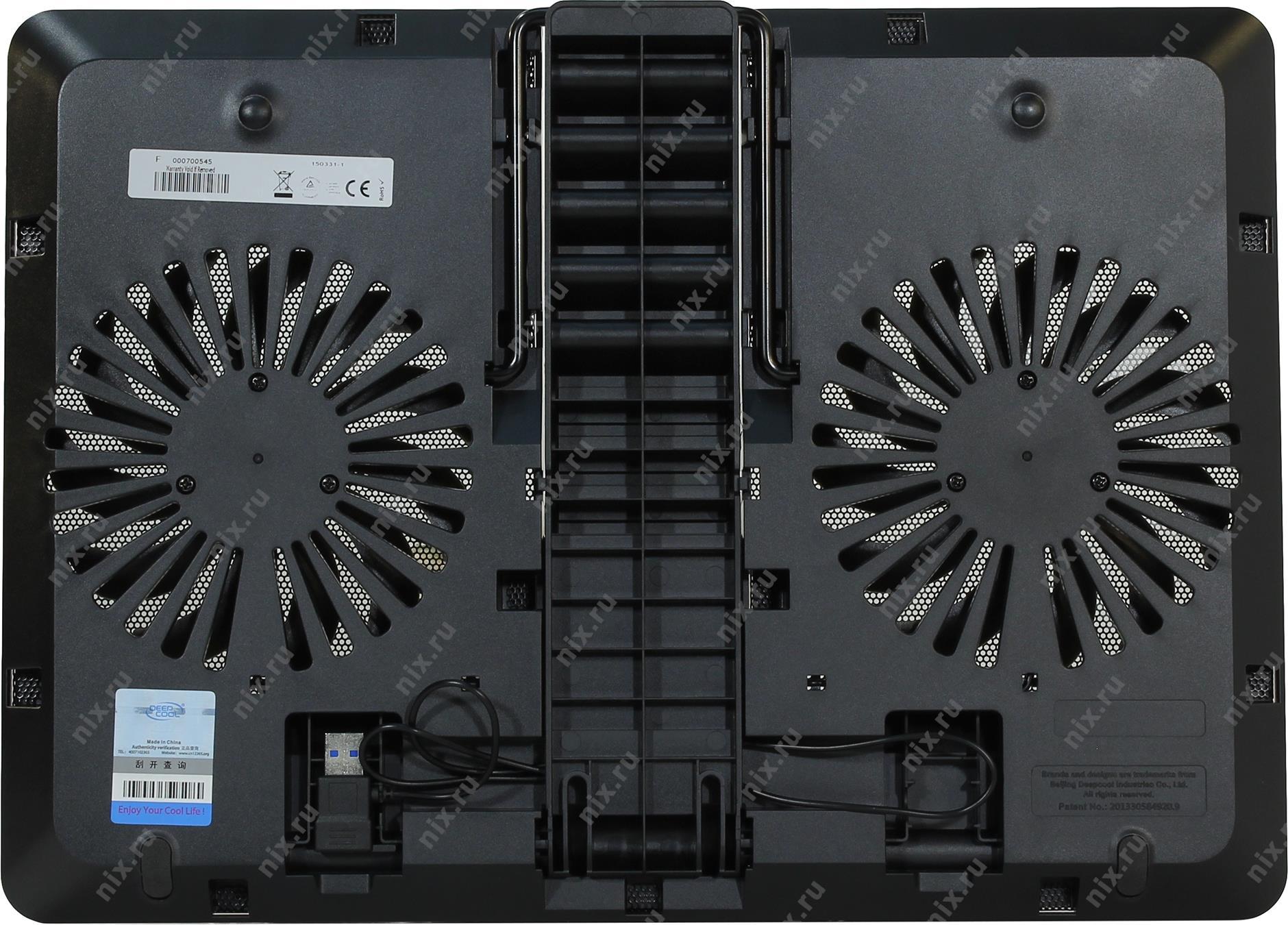Deepcool U Pal Usb 30 Notebook Cooler Black