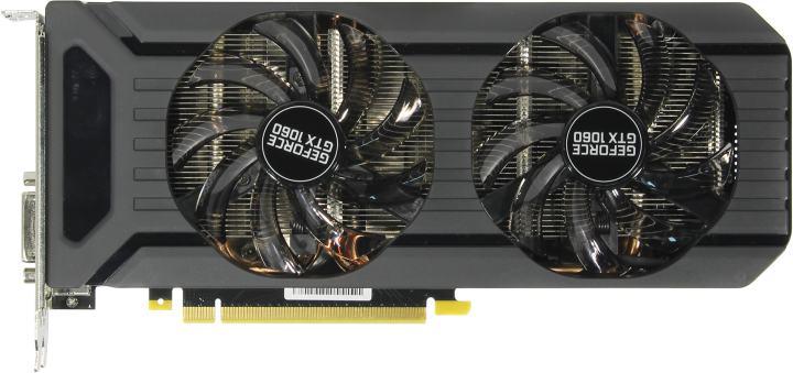 Картинки по запросу Видеокарта PALIT GeForce GTX1060 DUAL RTL