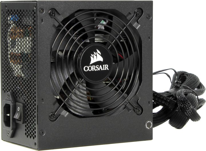 Corsair CX Series CX650M, вид основной