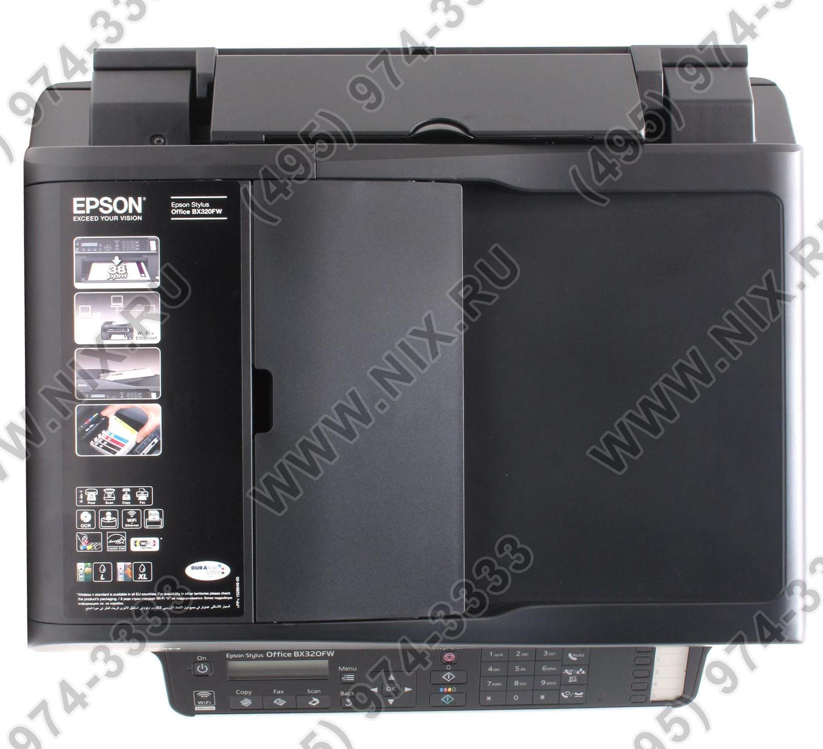 Epson Stylus Office Bx320fw Hp Ink Tank 319 Z6z13a Md