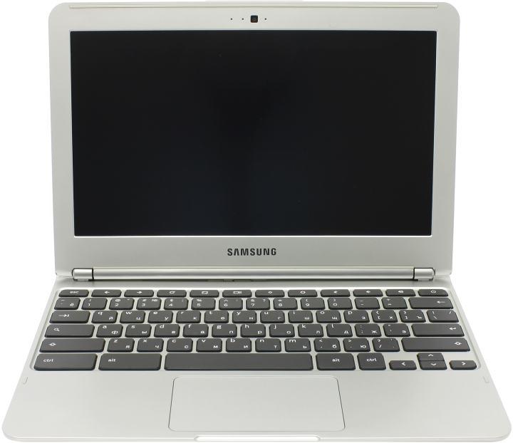 Samsung Chromebook XE303C12-A01, вид раскрытого ноутбука