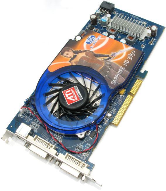 Sapphire RADEON HD 3850 AGP, вид основной