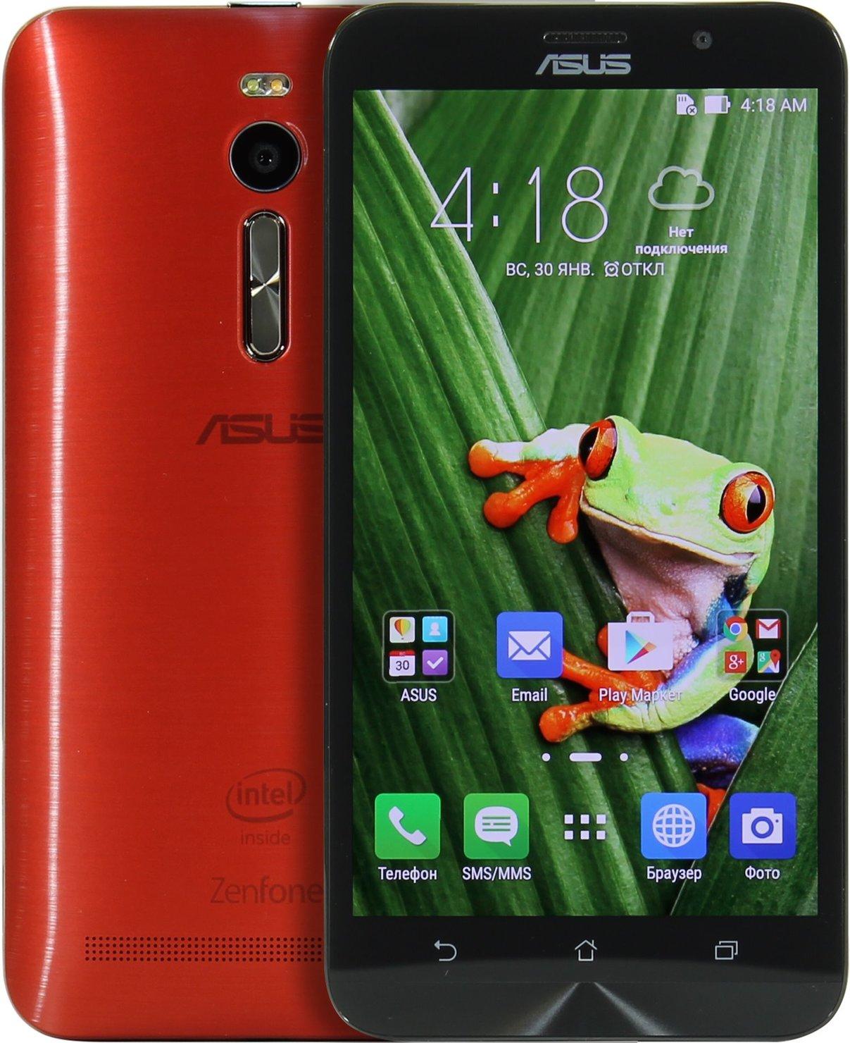 Asus Zenfone 2 Ze551ml Red 16 2gb