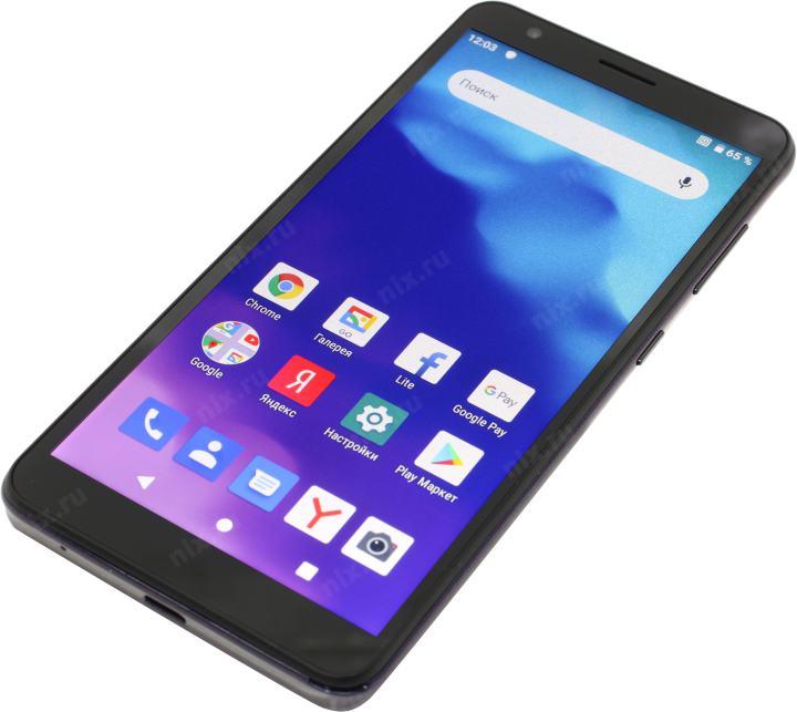 "Смартфон ZTE Blade A3 2020 Lilac (1.4GHz, 1Gb, 5.45"" 1440x720, 4G+WiFi+BT, 32Gb+microSD, 8Mpx)"