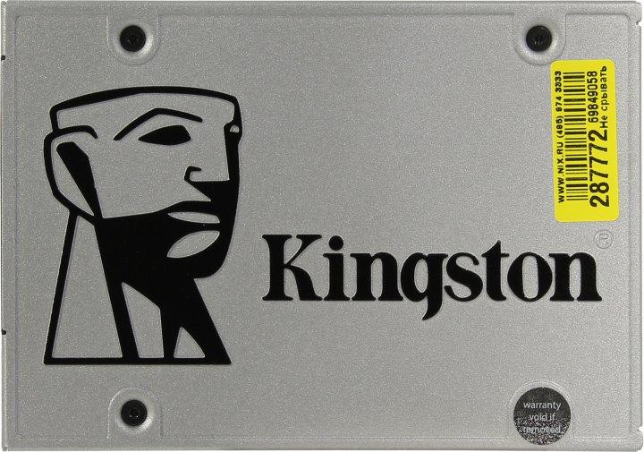 Kingston SSDNow UV400 SUV400S37/960G, вид сверху