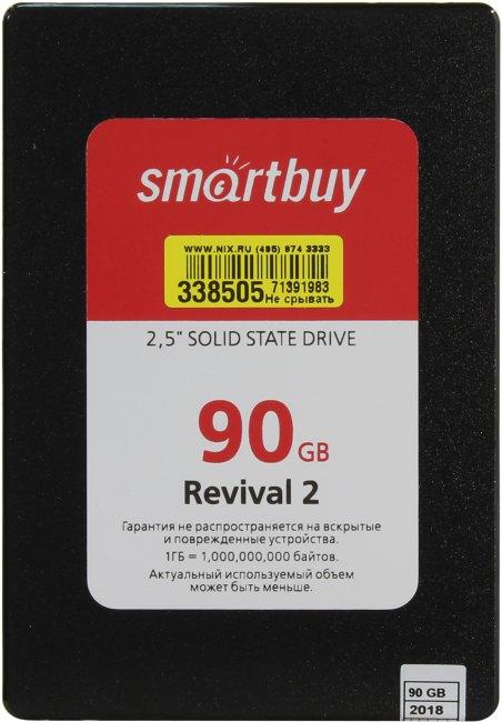 SmartBuy Revival 2 SB090GB-RVVL2-25SAT3, вид сверху