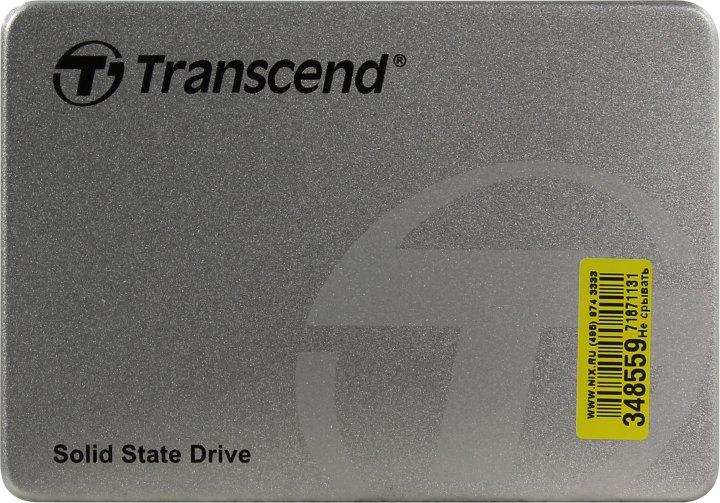 Transcend SSD360S TS512GSSD360S, вид сверху