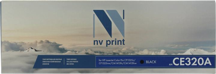 NV-Print CE320A, вид спереди