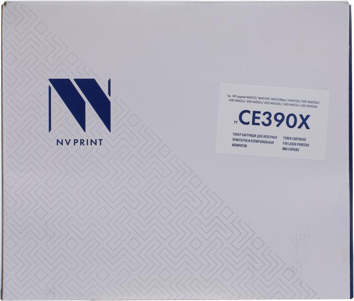 NV-Print CE390X, вид спереди