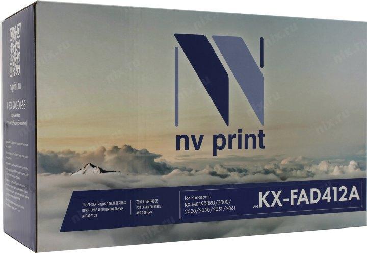 Барабан NV-Print аналог KX-FAD412A для Panasonic MB2000/2020/2030