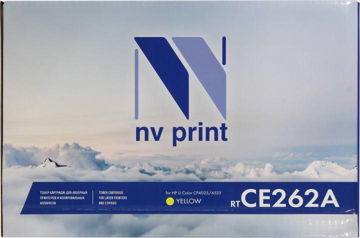 NV-Print CE262A, вид спереди