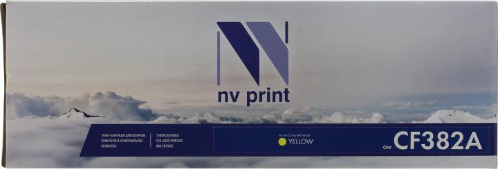 NV-Print CF382A, вид спереди