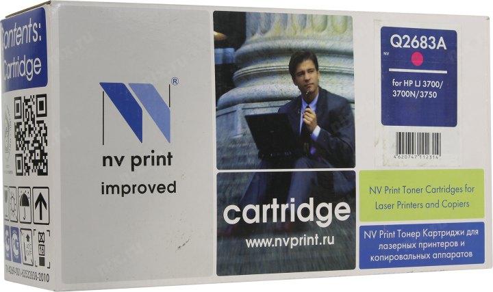 Картридж HP Q2683A для CLJ 3700. Пурпурный. 6000 страниц.