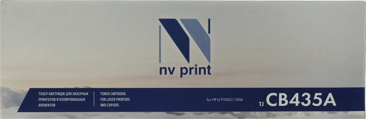 NV-Print CB435A (№35A), вид спереди