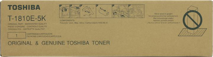 Тонер Toshiba T-1810E-5K для Toshiba e-STUDIO 181/182/211/212/242/182i/212i/242i