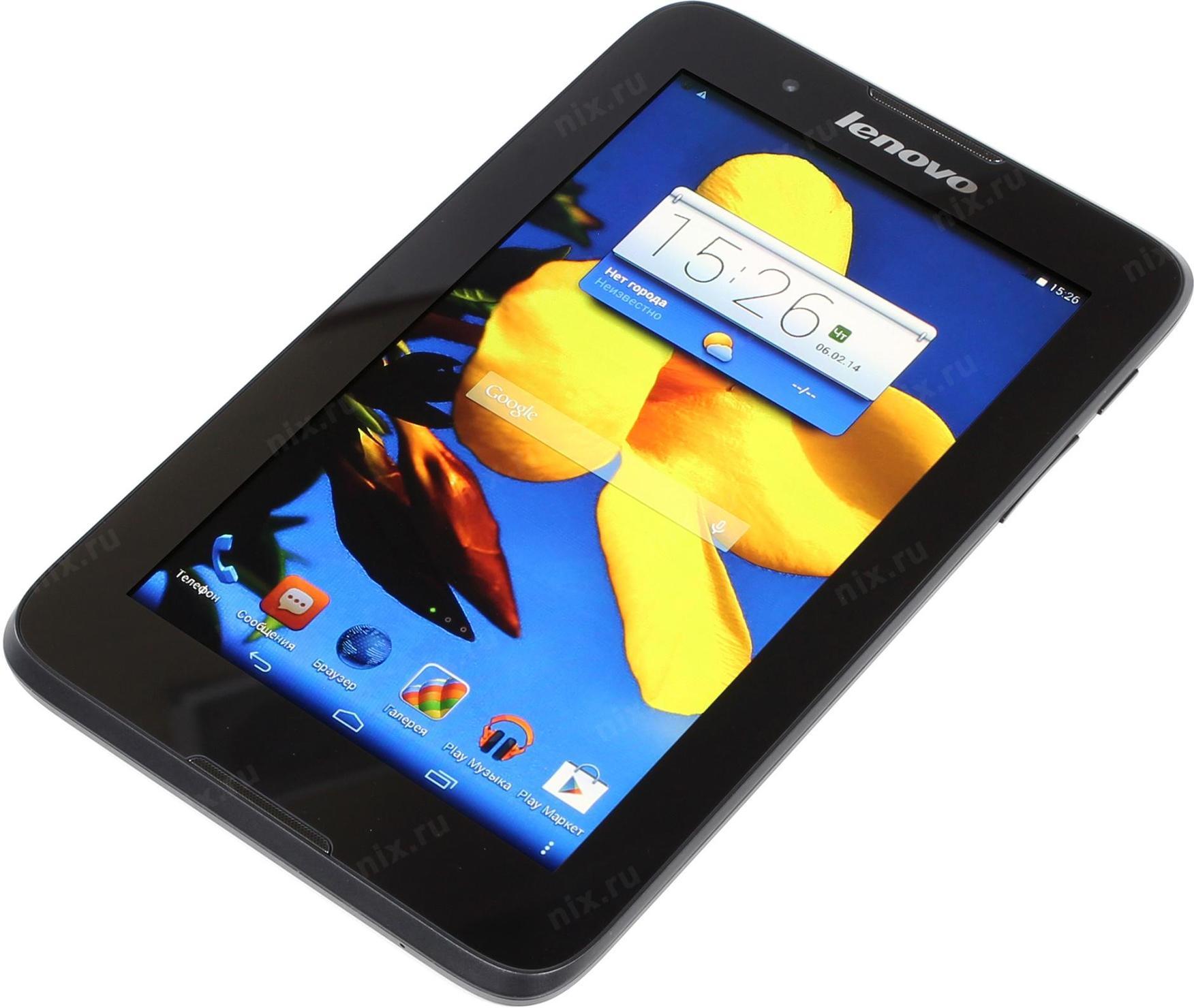 ПРаншет Lenovo TAB A7 30 8 Гб WiFi 3G Черный — купить цена и характеристики отзывы