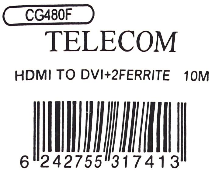 u041a u0430 u0431 u0435 u043b u044c hdmi dvi 10  u043c u0435 u0442 u0440 u043e u0432 telecom hdmi to dvi-d single link