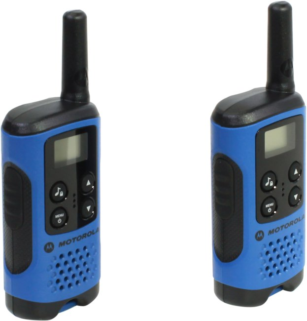 Motorola TLKR T41 Walkie Talkie Consumer Radio, вид основной