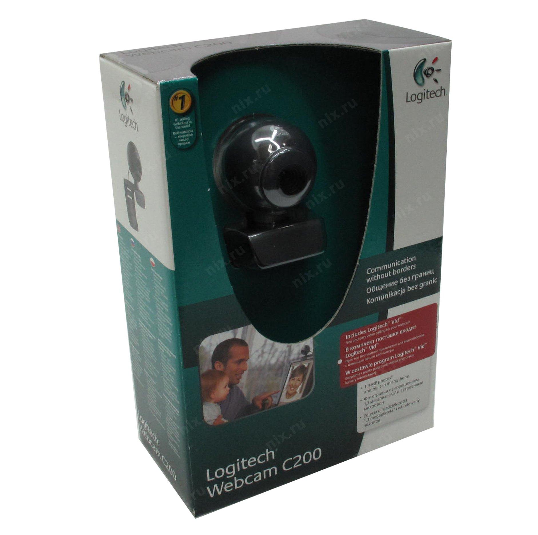Logitech webcam c200 драйвер скачать windows 7
