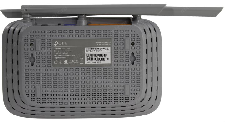 Маршрутизатор TP-LINK <TL-WR845N> Wireless N Router (4UTP 100Mbps, 1WAN, 802.11b/g/n, 300Mbps, 3x5dBi)