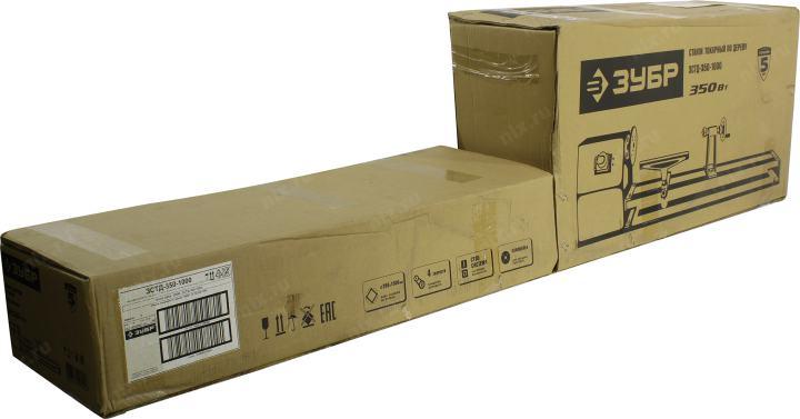 ЗУБР Мастер <ЗСТД-350-1000> Станок токарный по дереву (350W, 840-2480 об/мин, L1000 мм, D350 мм, 4 скорости)
