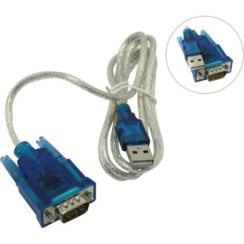 5bites UA-AMDB9-012 Кабель-адаптер USB2.0 AM-- RS232 (M)