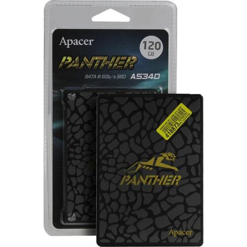 SSD диск Apacer AS340 Panther 120 Гб AP120GAS340G-1 SATA