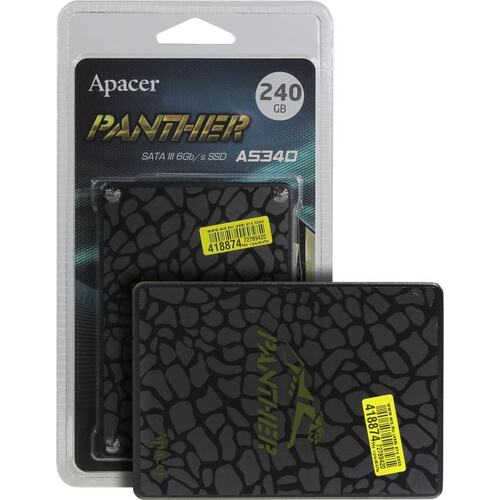 SSD диск Apacer AS340 Panther 240 Гб AP240GAS340G-1 SATA