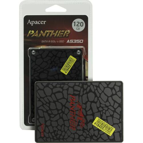 SSD диск Apacer AS350 Panther 120 Гб AP120GAS350-1 SATA