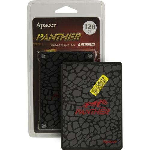 SSD диск Apacer AS350 Panther 128 Гб AP128GAS350-1 SATA