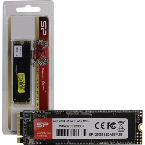 SSD диск Silicon Power Ace A55 128 Гб SP128GBSS3A55M28 SATA