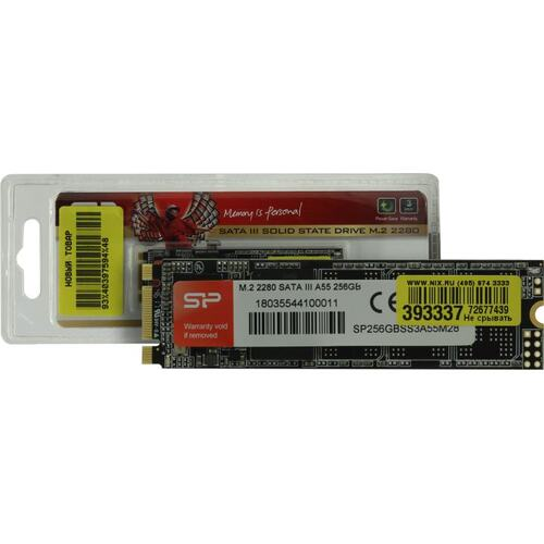 SSD диск Silicon Power Ace A55 256 Гб SP256GBSS3A55M28 SATA