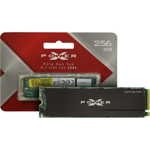 SSD диск Silicon Power XD80 256 Гб SP256GBP34XD8005 PCI-E
