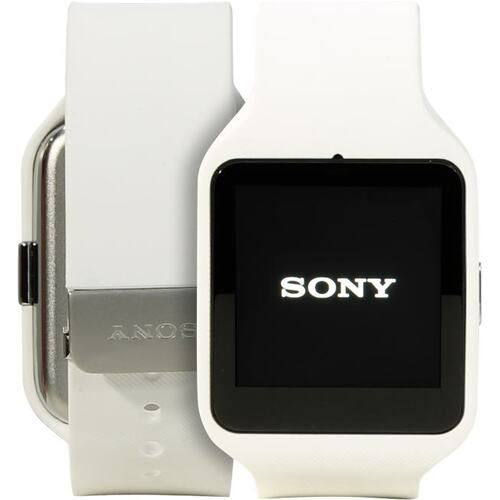 "Sony SmartWatch 3 SWR50 511786 White (1.2GHz, 512MbRAM, 1.6"" 320x320, NFC, Bluetooth, GPS, 4Gb, Android Wear)"