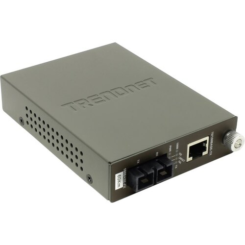 Конвертер TRENDnet TFC-110S60i Intelligent 10/100Base-TX to 100Base-FX SC Fiber Converter (SM)